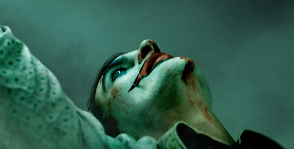 'Joker' theatrical poster. Courtesy Warner Bros. Pictures