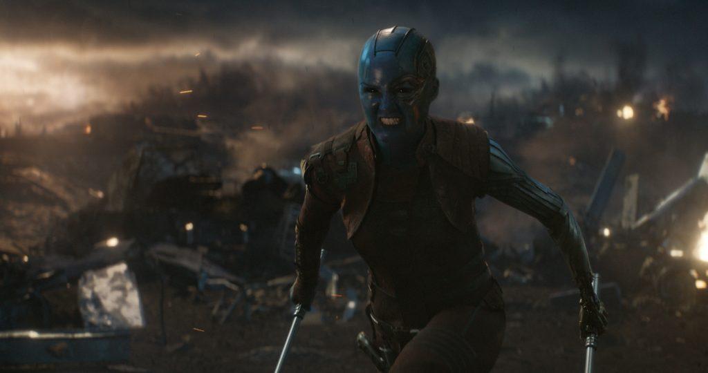 Marvel Studios' AVENGERS: ENDGAME. Nebula (Karen Gillan). Photo: Film Frame. ©Marvel Studios 2019