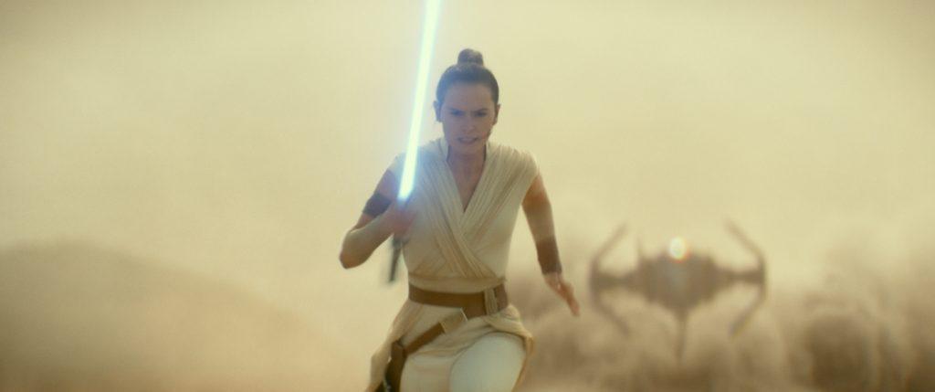 Rey (Daisy Ridley) in STAR WARS: EPISODE IX. Courtesy Lucasfilm/Walt Disney Studios