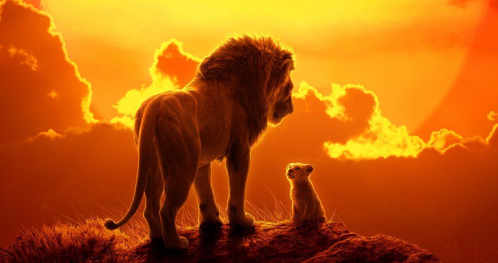 'The Lion King' theatrical poster. Courtesy Walt Disney Studios.