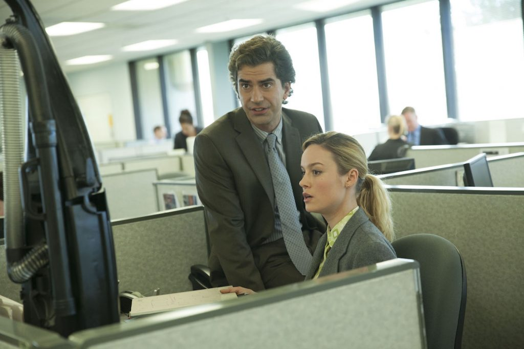 Hamish Linklater and Brie Larson. Courtesy Netflix