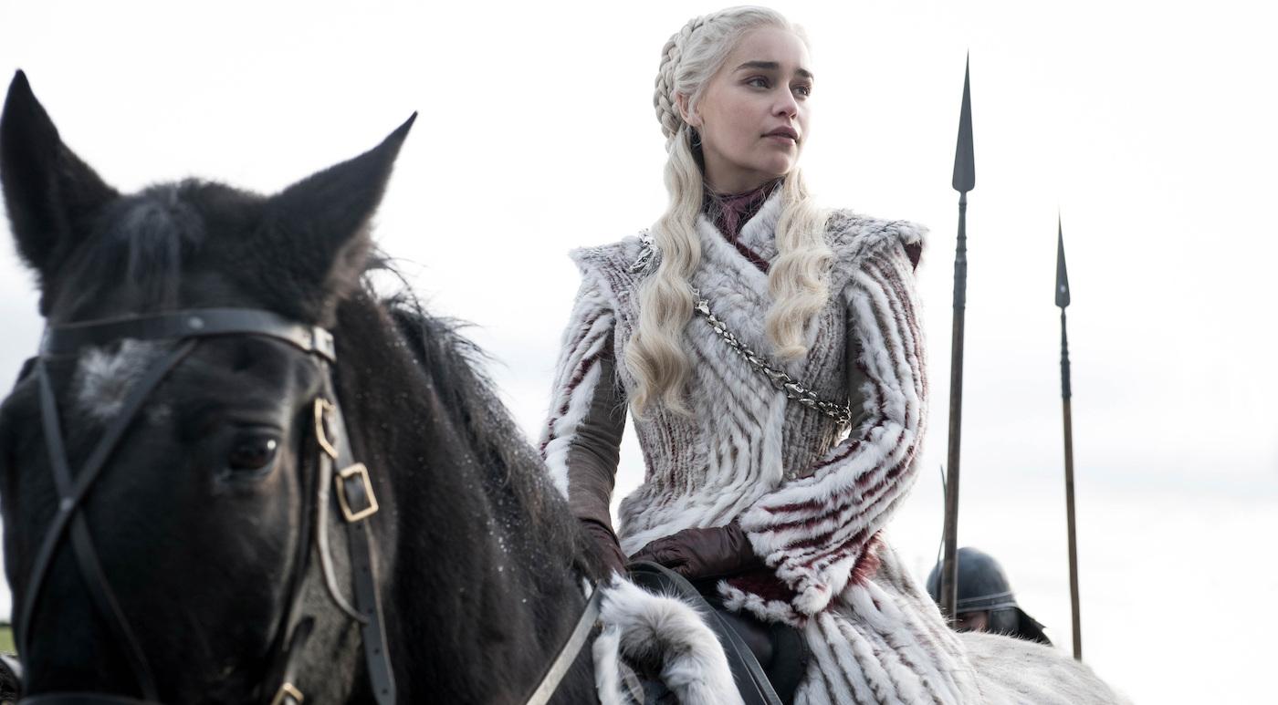 Season 8: Emilia Clarke. Photo: Helen Sloane/HBO