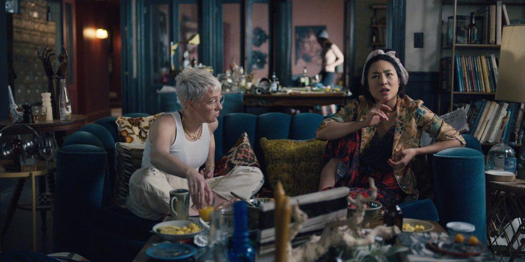 Rebecca Henderson and Greta Lee in 'Russian Doll.'