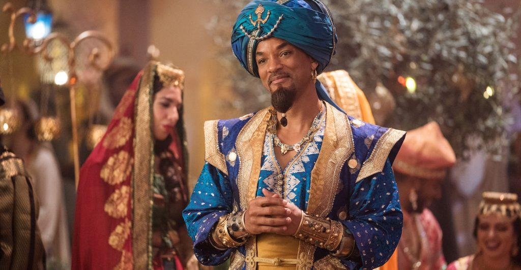 Will Smith is Genie. Courtesy Walt Disney Studios.