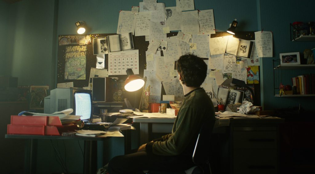 Fionn Whitehead in 'Black Mirror: Bandersnatch.'