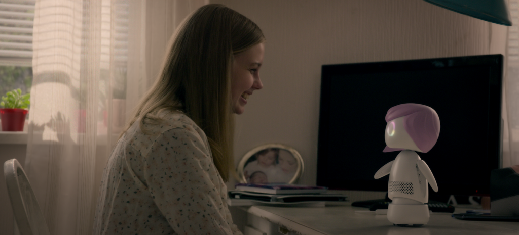 Angourie Rice in 'Black Mirror.' Courtesy Netflix.