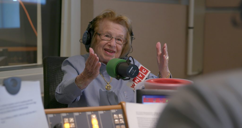 Dr. Ruth Westheimer in ASK DR. RUTH, a Hulu Originals film. Photo courtesy of Hulu Originals.