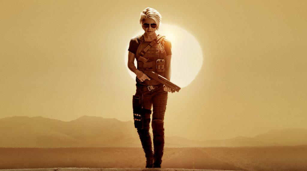 Linda Hamilton returns as Sarah Conner in 'Terminator: Dark Fate.' Courtesy Paramount Pictures