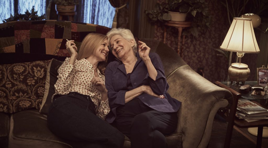 Laura Linney and Olympia Dukakis. Photo by Nino Munoz / NETFLIX