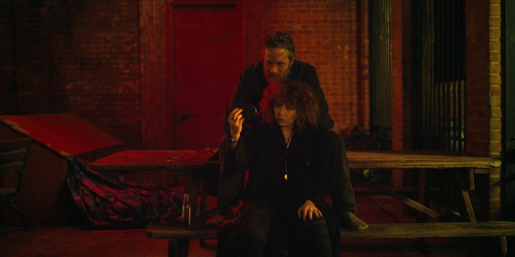 Brandon Sexton III and Natasha Lyonne in 'Russian Doll.' Courtesy Netflix.