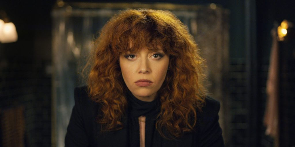 Natasha Lyonne in 'Russian Doll.' Courtesy of Netflix