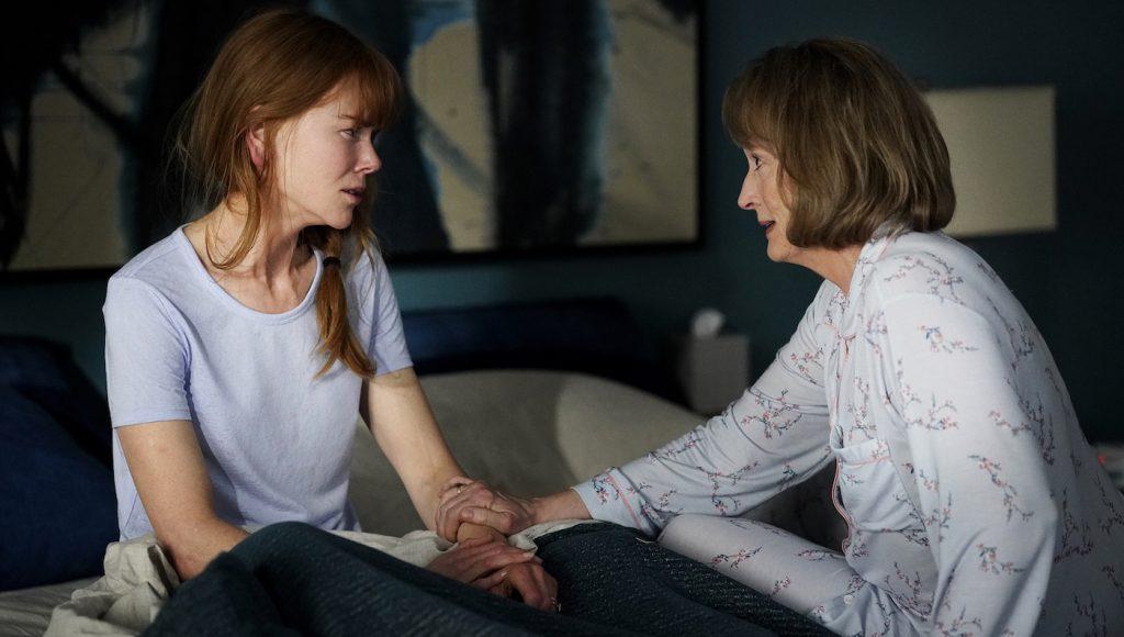 Season 2, episode 1, debut 6/9/19: Nicole Kidman, Meryl Streep. photo: Jennifer Clasen/HBO