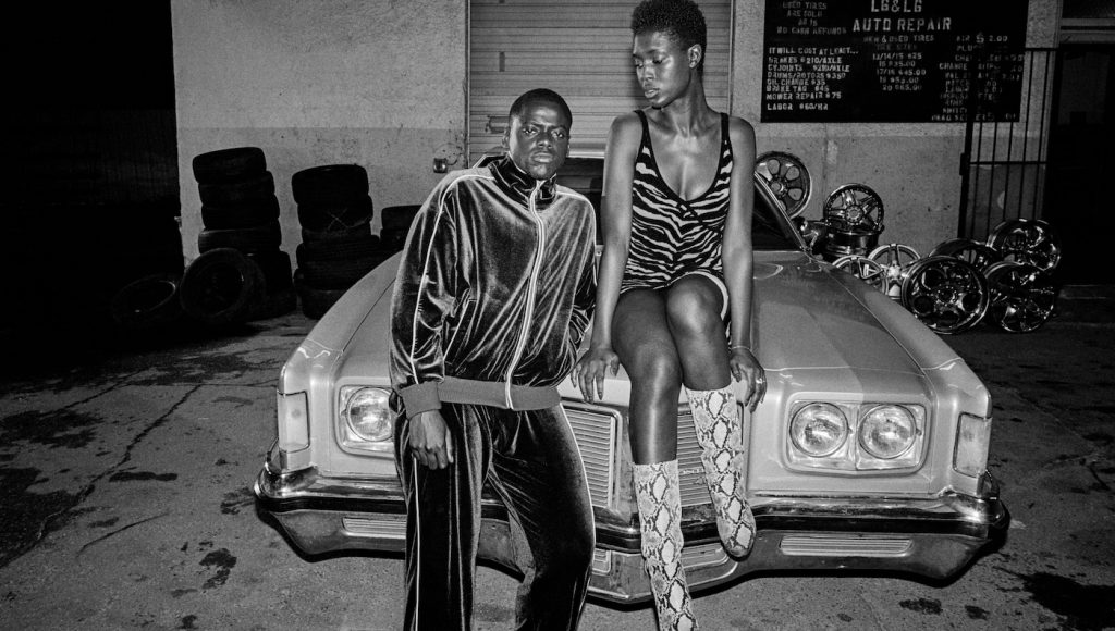 (from left) Slim (Daniel Kaluuya) and Queen (Jodie Turner-Smith) in Queen & Slim, directed by Melina Matsoukas. Courtesy Universal Pictures