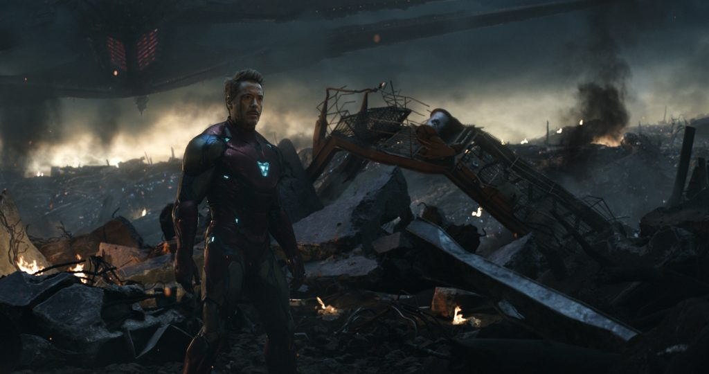 Marvel Studios' AVENGERS: ENDGAME. Tony Stark/Iron Man (Robert Downey Jr.) .Photo: Film Frame. ©Marvel Studios 2019