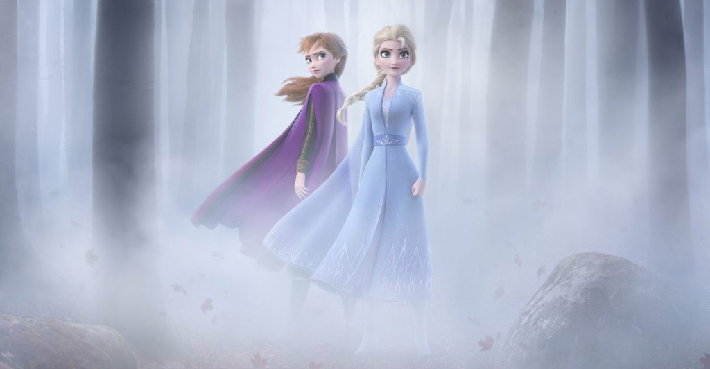 'Frozen 2' theatrical poster. Courtesy Walt Disney Studios