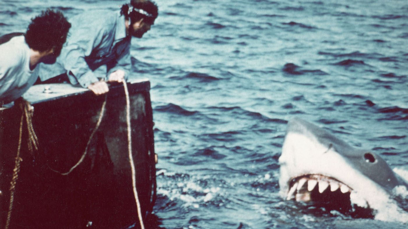 Robert Shaw In A Scene From 'Jaws'