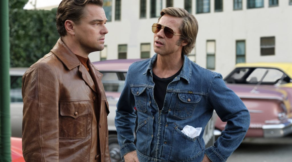 Leonardo DiCaprio and Brad Pitt star in ONCE UPON TIME IN HOLLYWOOD. Credit: Andrew Cooper. Courtesy Sony Pictures.