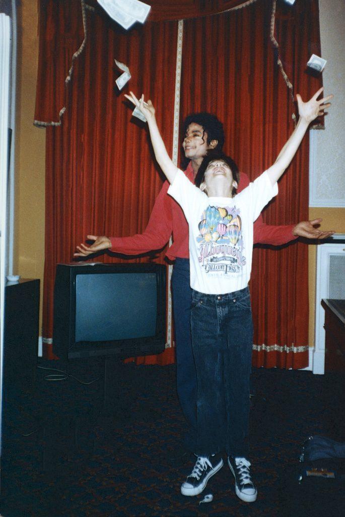 Michael Jackson, James Safechuck (1988). Photo: Dan Reed/HBO