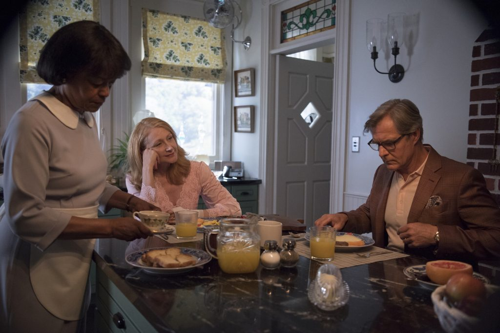 Episode 4, debut 7/29/18: Emily Yancy, Patricia Clarkson, Henry Czerny. photo: Anne Marie Fox/HBO