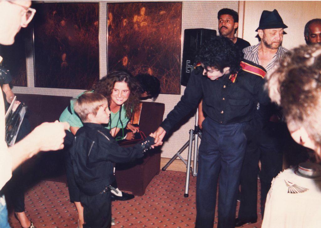 Michael Jackson, Wade Robson (1987). Photo: Dan Reed/HBO