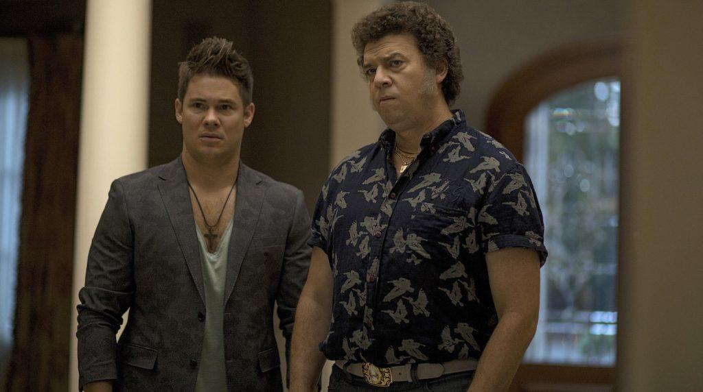 Adam Devine, Danny McBride. Photo: Fred Norris/HBO