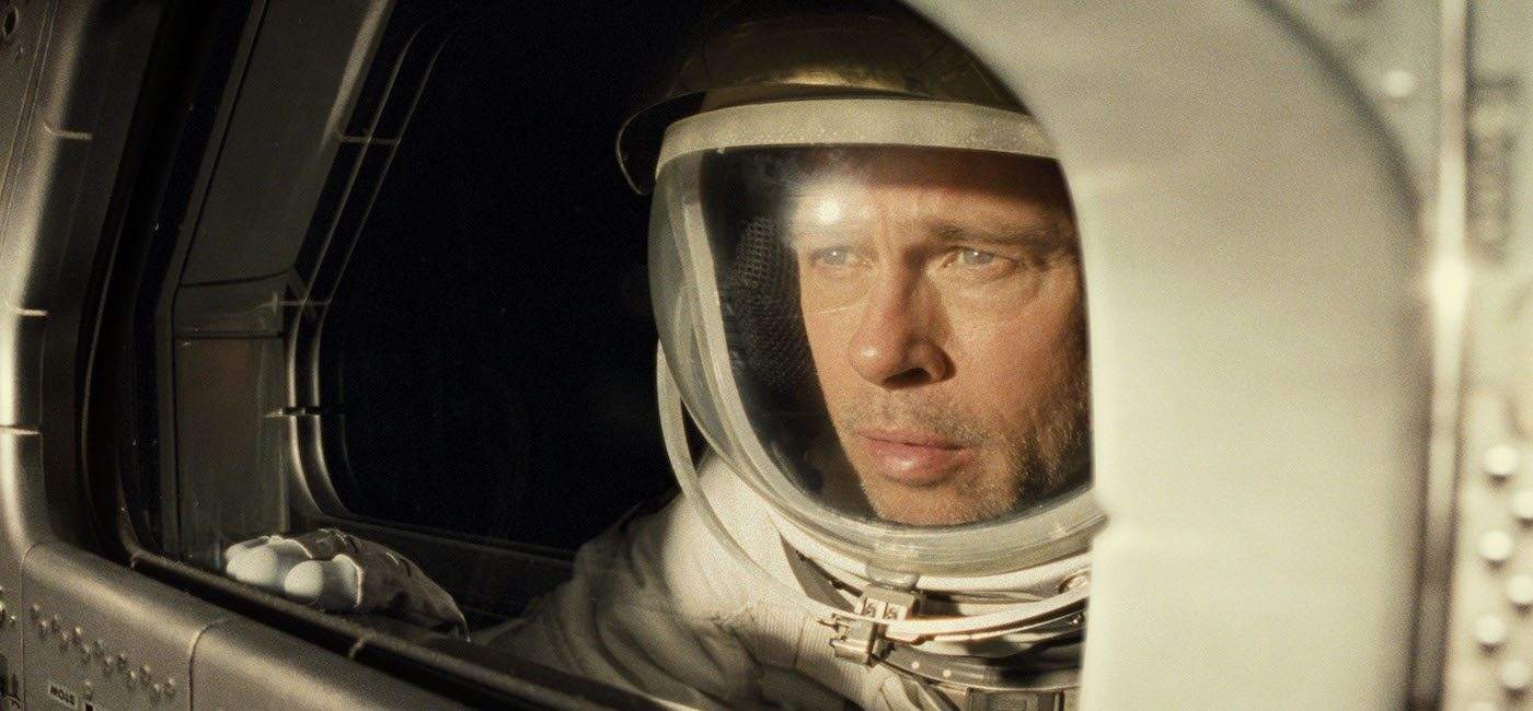 Brad Pitt in 'Ad Astra.' Courtesy 20th Century Fox/Walt Disney Studios