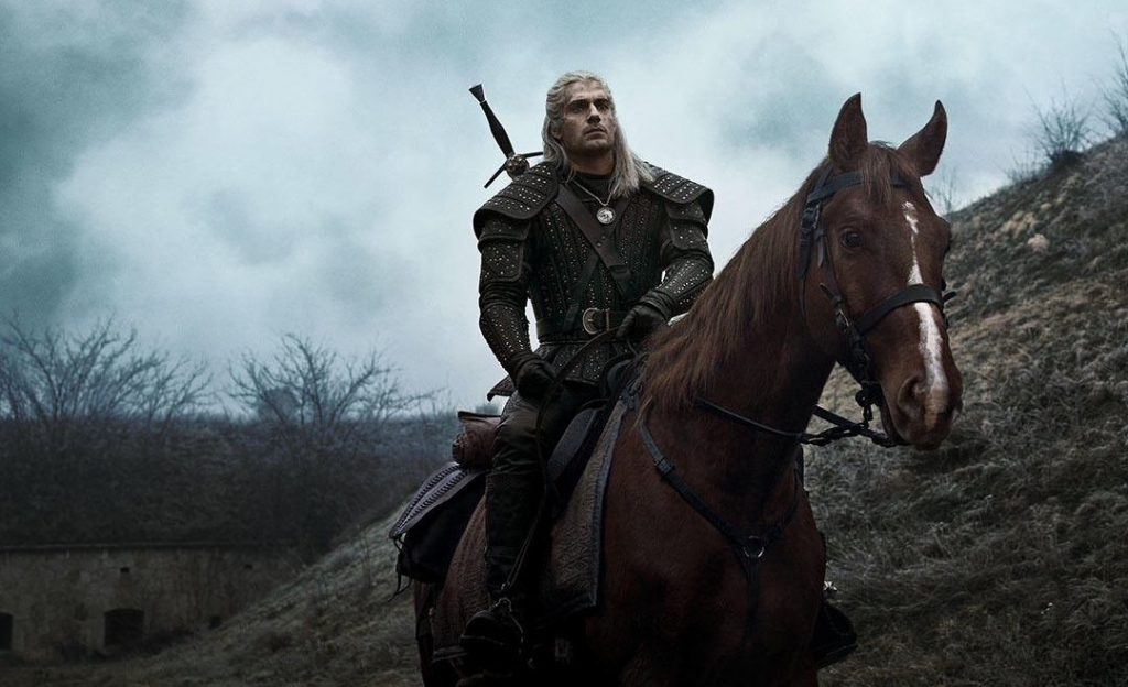 Henry Cavill is Geralt of Rivia in Netflix's 'The Witcher.' Courtesy Netflix.