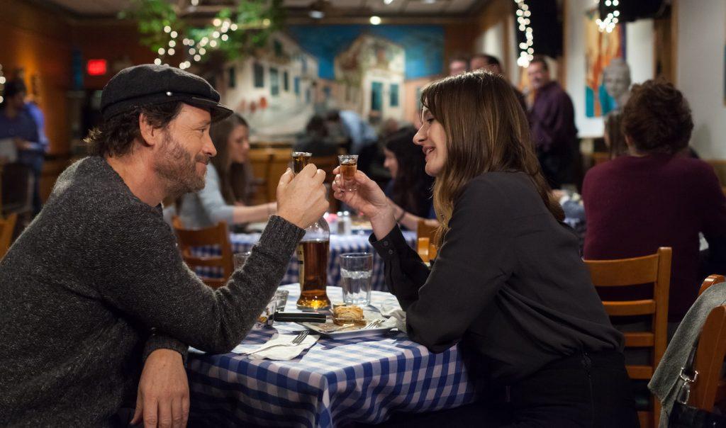 Greg Kinnear and Emily Mortimer in 'Phil.' Courtesy Bron Studios