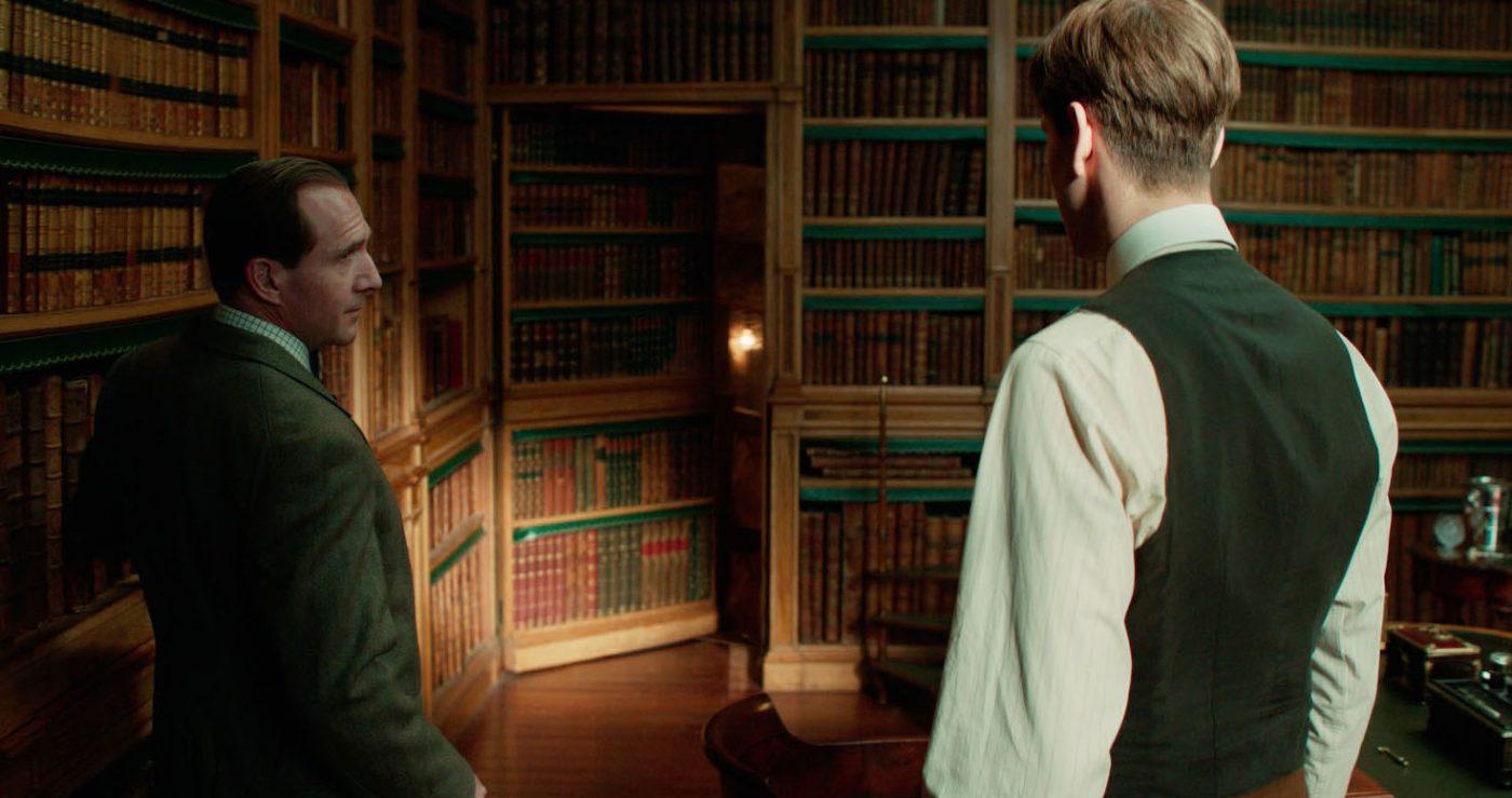 Ralph Fiennes & Harris Dickinson in 'The King's Man.' Courtesy 20th Century Fox.