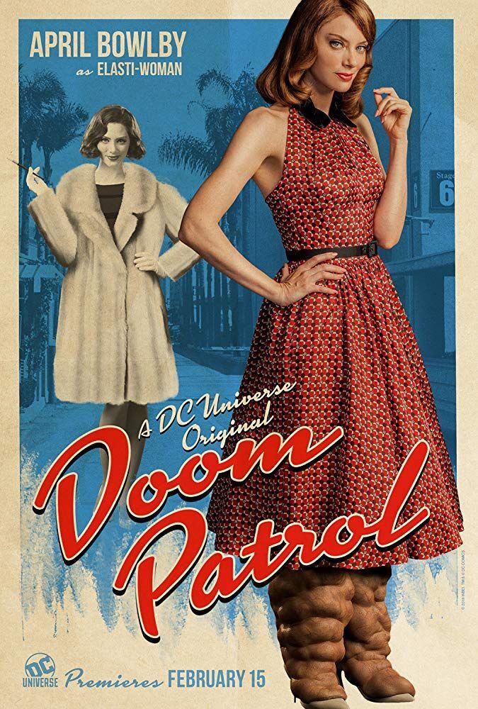 April Bowlby in 'Doom Patrol.'
