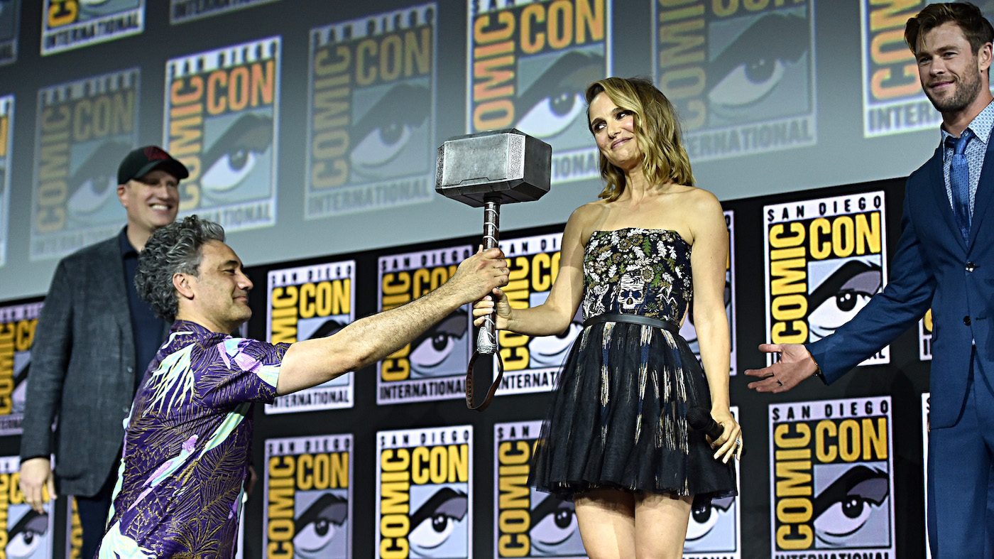 Natalie Portman Will Be Called Mighty Thor In Thor Love