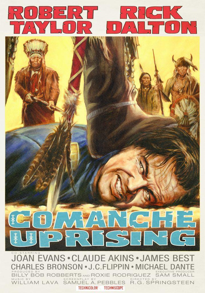 'Comanche Uprising' poster. Courtesy Steve Chorney.