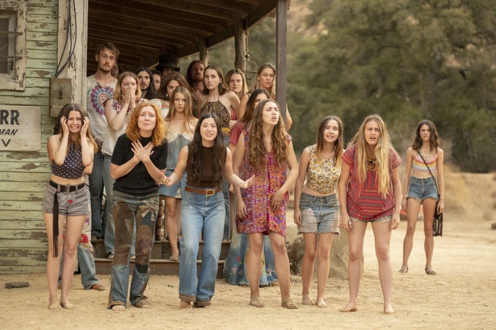 The Manson Family. Courtesy Sony Pictures.