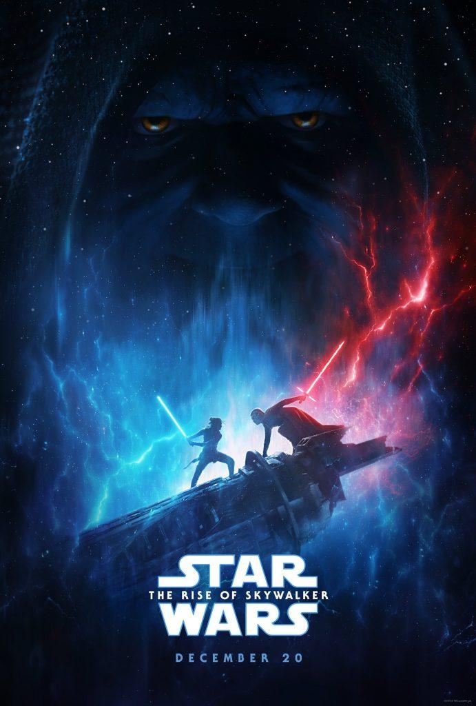 Star Wars: The Rise of Skywalker Poster. Courtesy Walt Disney Studios