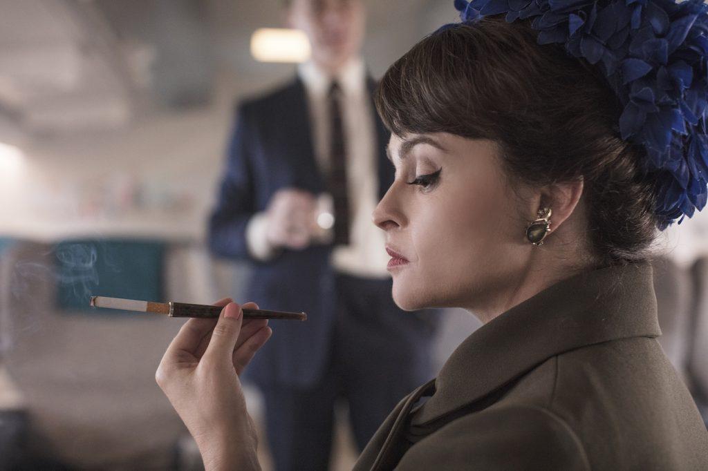 Helena Bonham Carter is Princess Margaret in 'The Crown.' Photo by Sophie Mutevelian. Courtesy Netflix.