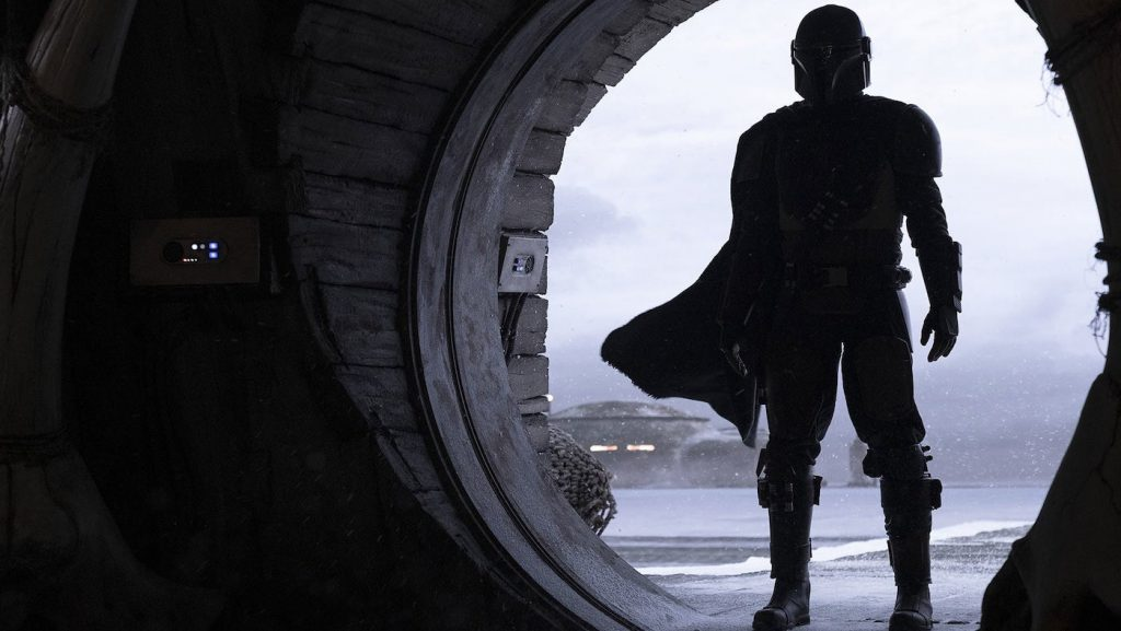 Pedro Pascal is 'The Mandalorian.' Courtesy Walt Disney Studios/Disney+