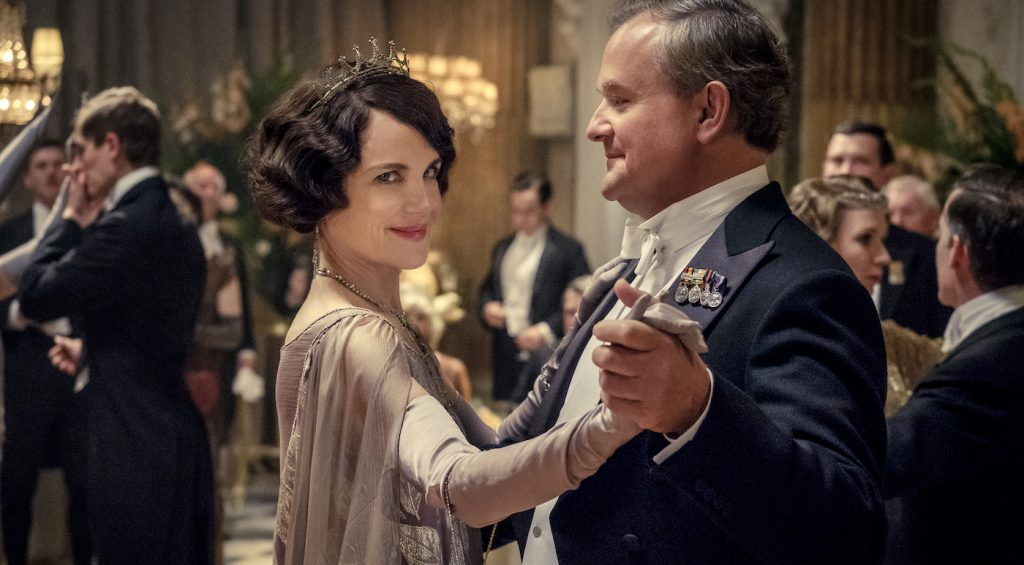 Elizabeth McGovern stars as Lady Grantham and Hugh Bonneville as Lord Grantham and in DOWNTON ABBEY, a Focus Features release.   Credit: Jaap Buitendijk / © 2019 Focus Features, LLC
