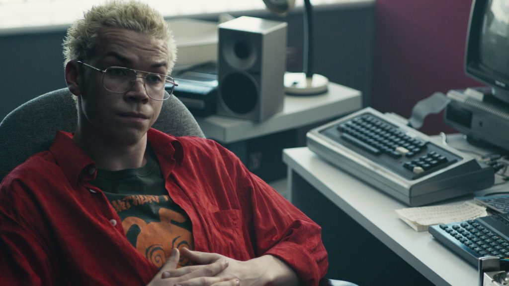 Will Poulter in 'Black Mirror: Bandersnatch.' Courtesy of Netflix.