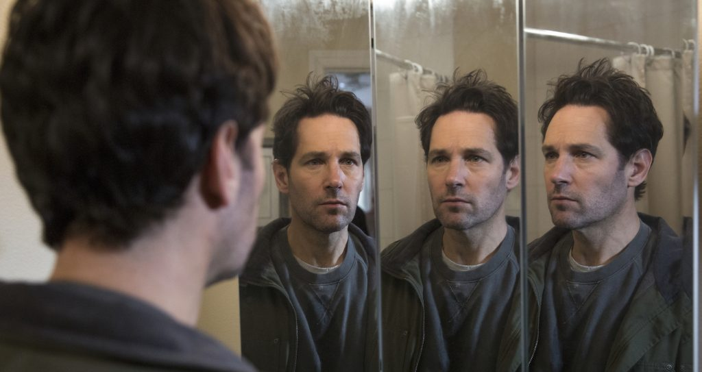 Paul Rudd in LIVING WITH YOURSELF. Courtesy Eric Liebowitz/Netflix