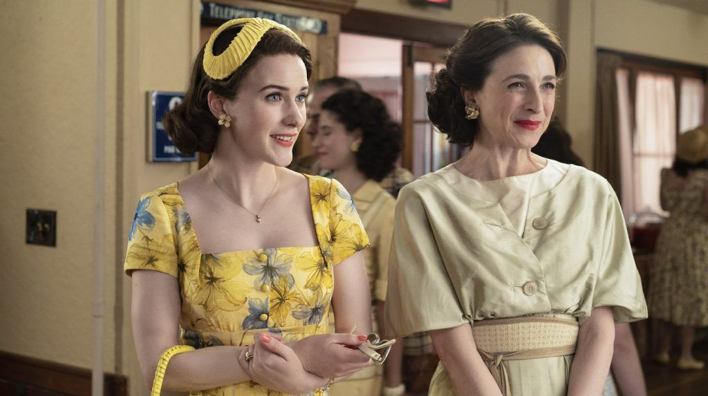 Rachel Brosnahan as Midge in episode 4 of 'The Marvelous Mrs. Maisel.' Courtesy Amazon.