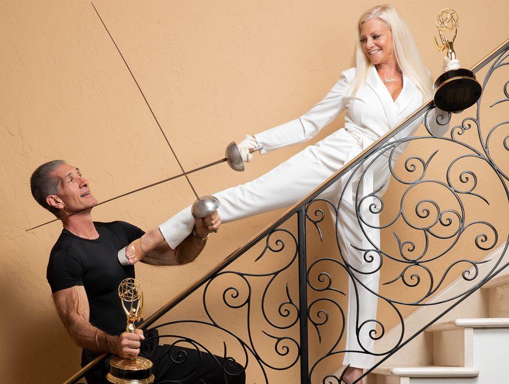 Peewee Piemonte and Julie Michaels