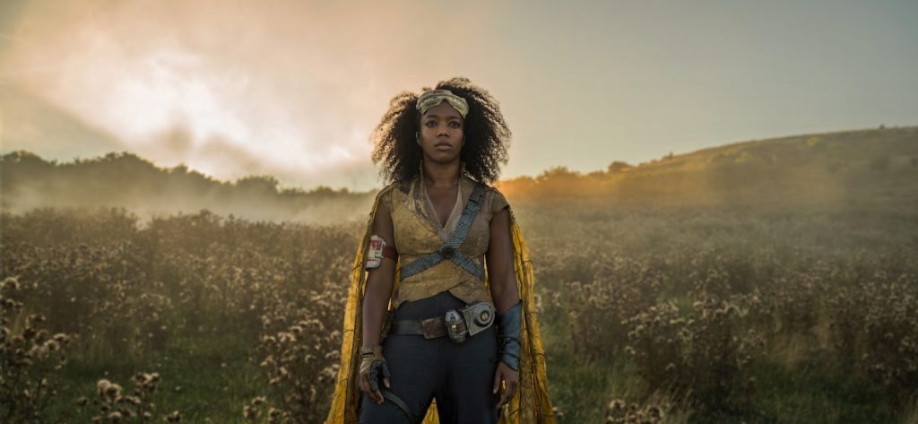 Naomi Ackie is Jannah in STAR WARS:  THE RISE OF SKYWALKER. Courtesy Lucasfilm/Walt Disney Studios