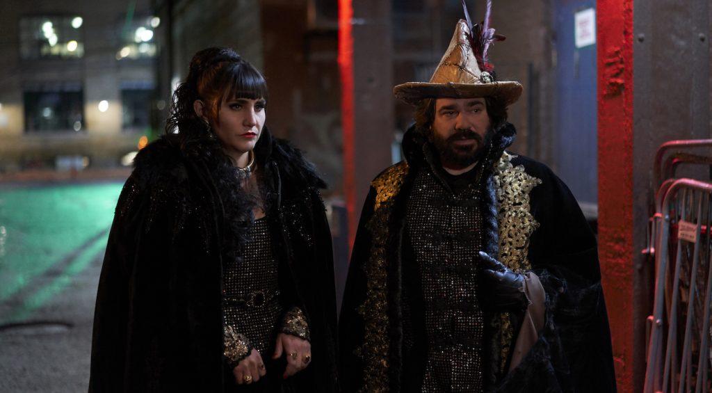 Pictured: Natasia Demetriou as Nadja, Matt Berry as Laszlo CR: Russ Martin/FX