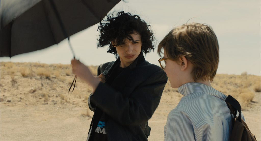 (L-r) FINN WOLFHARD as Young Boris and OAKES FEGLEY as Young Theo Decker in Warner Bros. Pictures' and Amazon Studios' drama, THE GOLDFINCH. Photo Credit: Warner Bros. Pictures