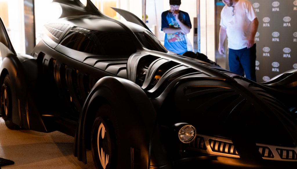 The Batmobile. Courtesy Warner Bros. Pictures.