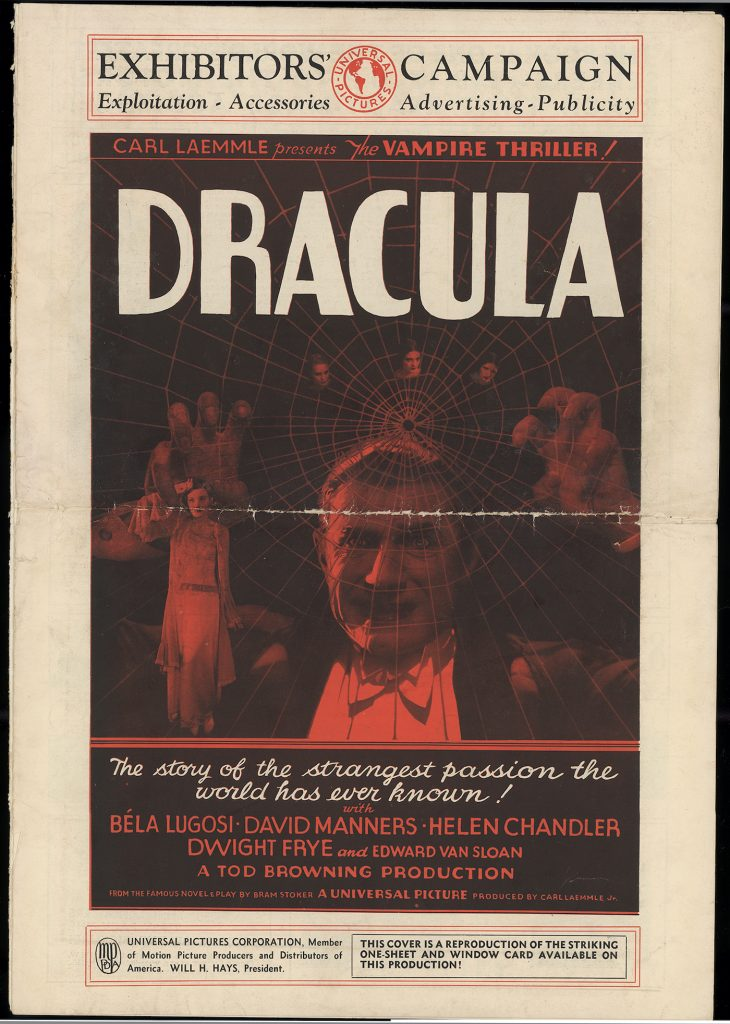 NBCUniversal Archives- Dracula Pressbook