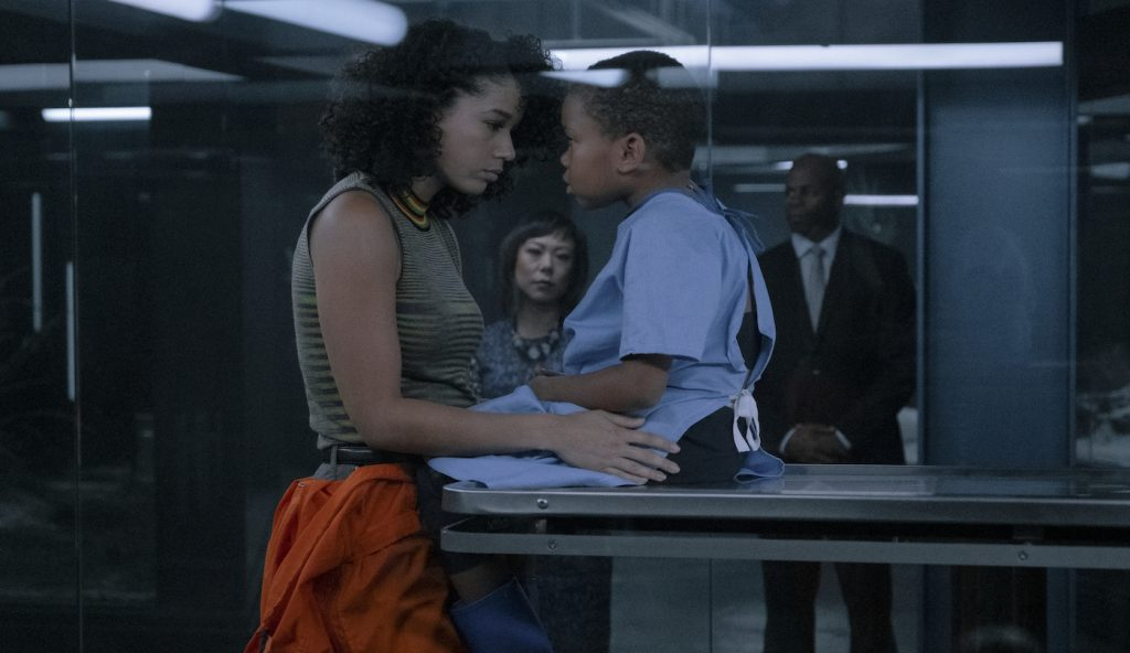 Alisha Wainwright and Ja'Siah Young in 'Raising Dion.' Courtesy Netflix.