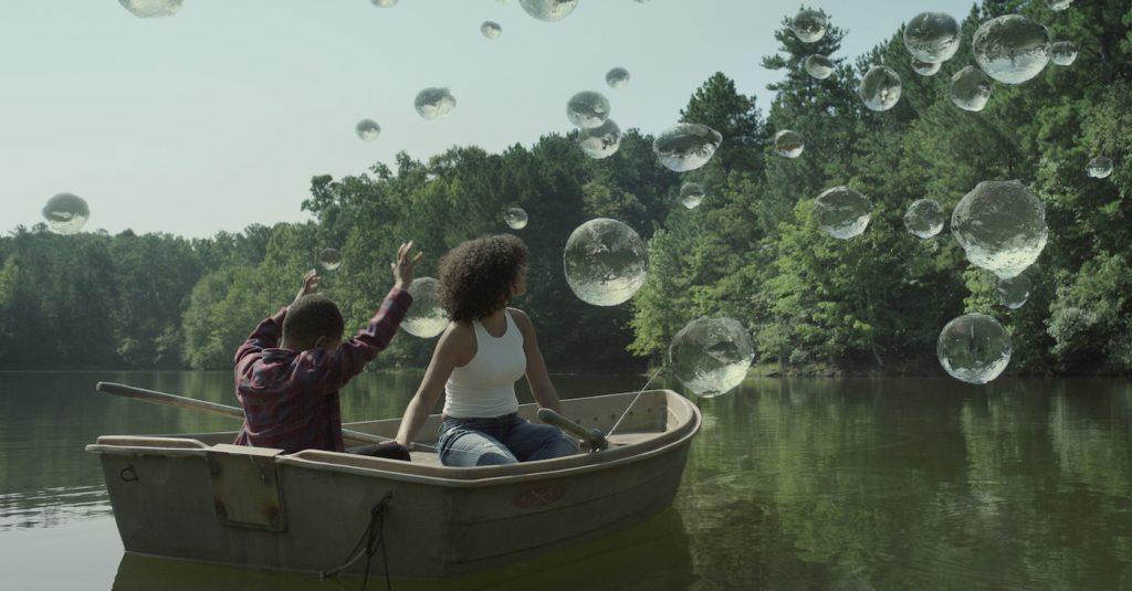L'r: Ja'Siah Young and Alisha Wainwright in 'Raising Dion.' Courtesy Netflix.