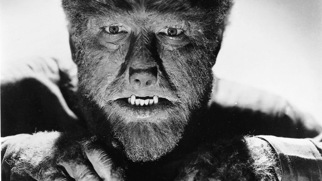 Lon Cheney Jr. in 'The Wolf Man.' Courtesy NBCUniversal.