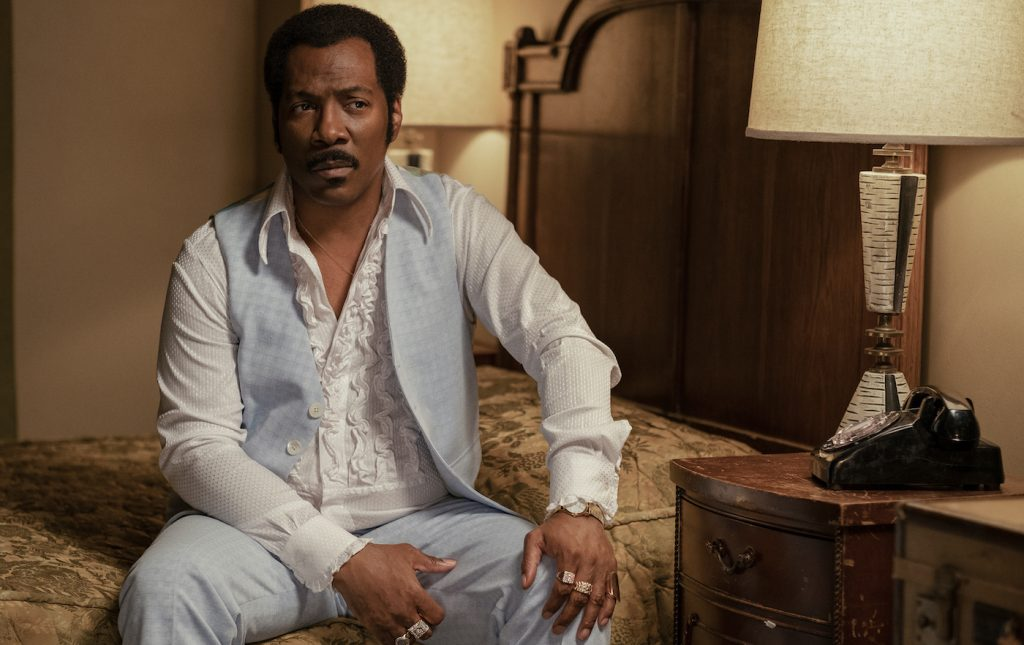Eddie Murphy is Rudy Ray More in 'Dolemite is My Name.' Courtesy Netflix.